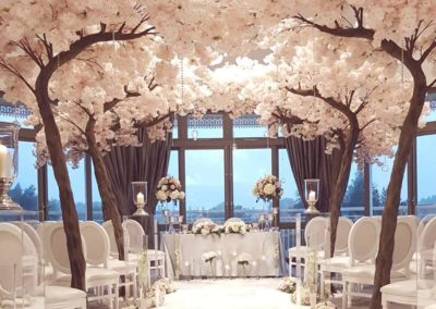Ceremony Blossom Trees