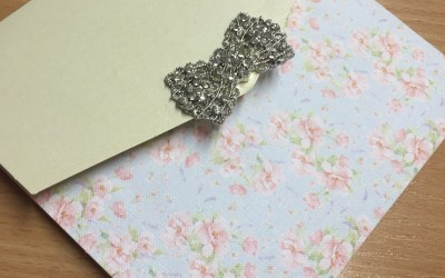 Vintage Blossom invitation
