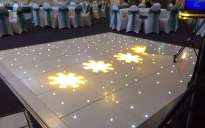 LED Dance Floor Calderfields Golf Club