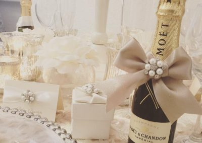 MOet Wedding Favour
