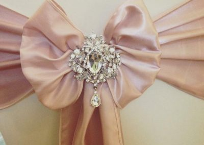 Rose Gold Chair Sash