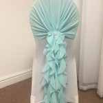 Ice Blue Ruffle Tiffany