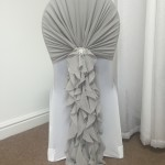 Light Silver Ruffle