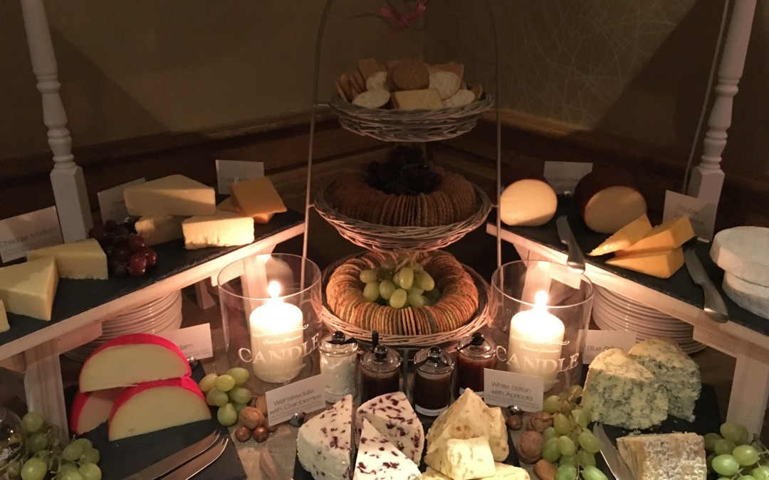 Cheese Cart Wedding